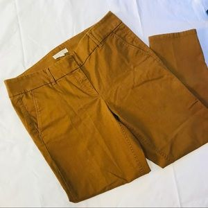 LOFT Marissa Cropped Pants